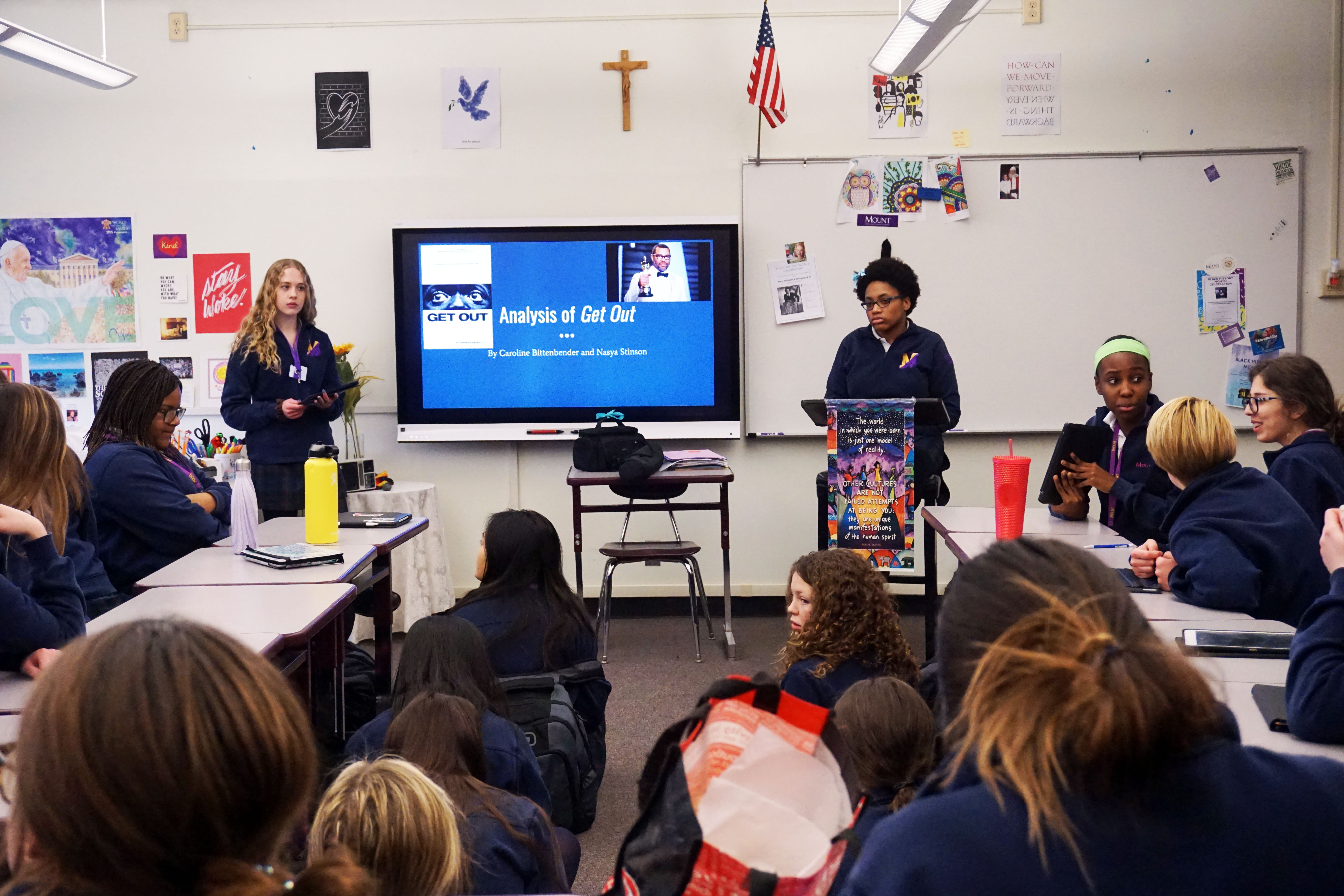 Mount Celebrates Black History Month with Cross-Curricular Programming