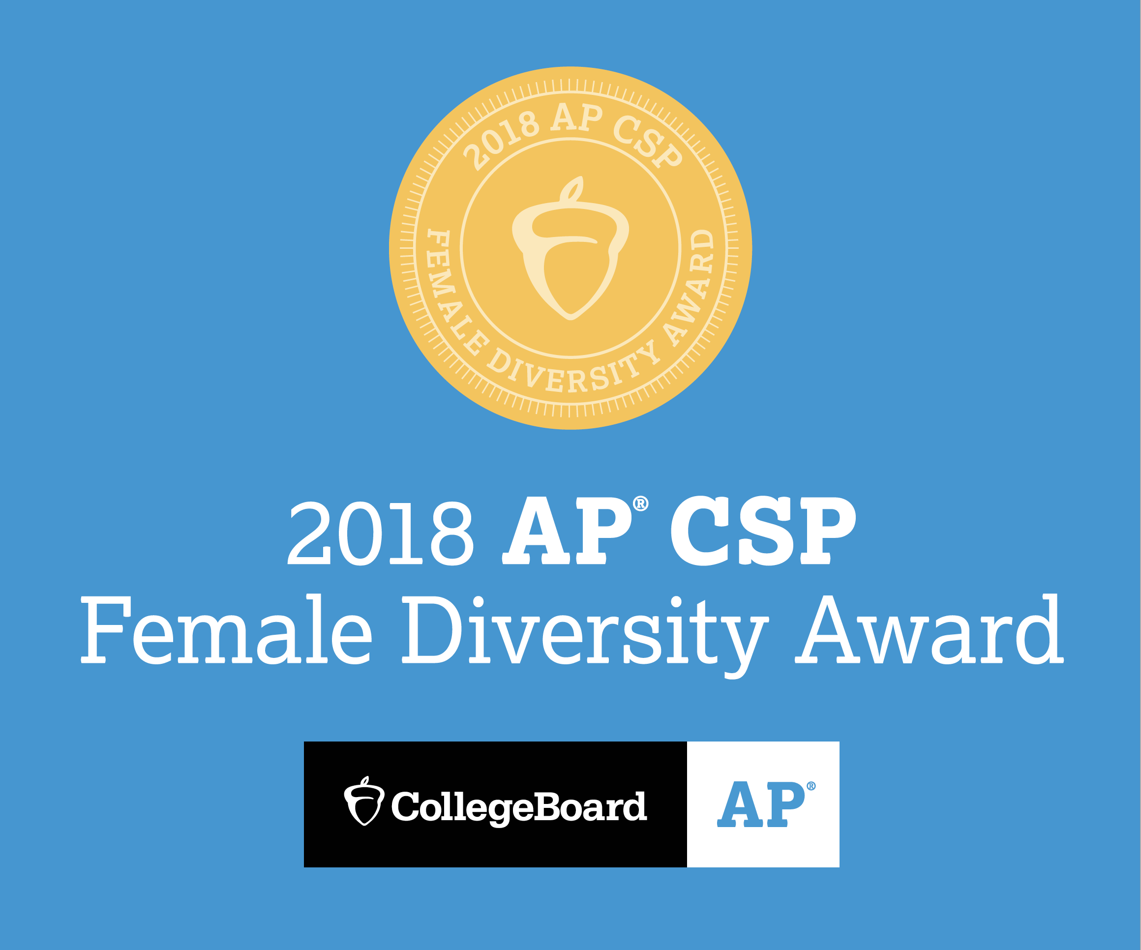 MSJA Earns College Board AP Computer Science Female Diversity Award