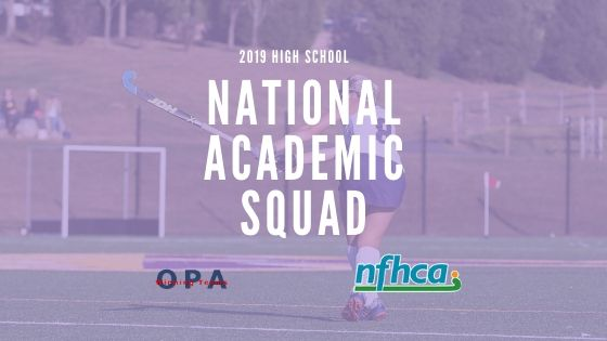 MSJA Field Hockey Scholar-Athletes Named on the 2019 National Academic Squad