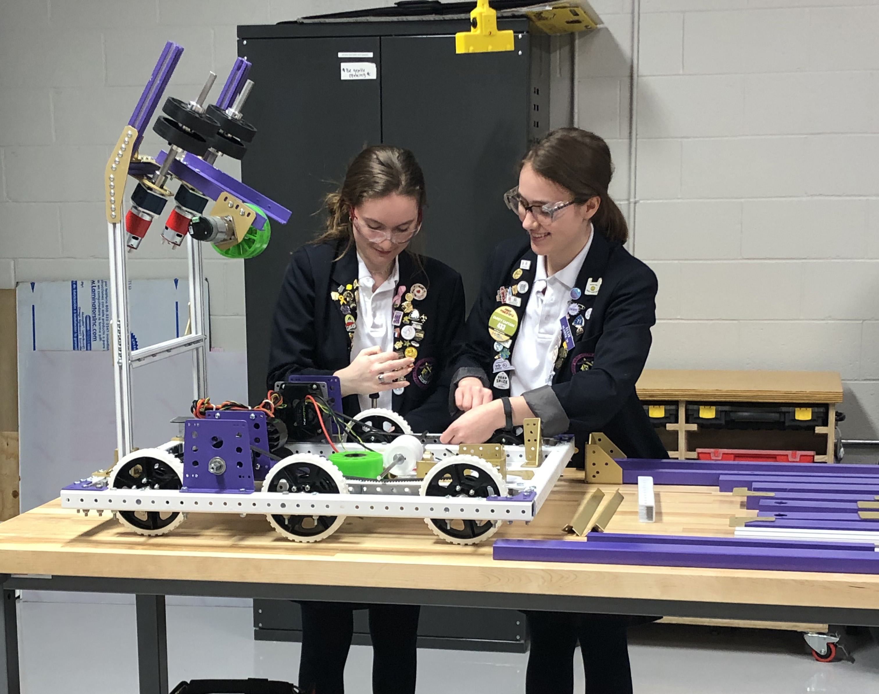 Newly-Renovated, State-of-the-Art Robotics Lab Unveiled