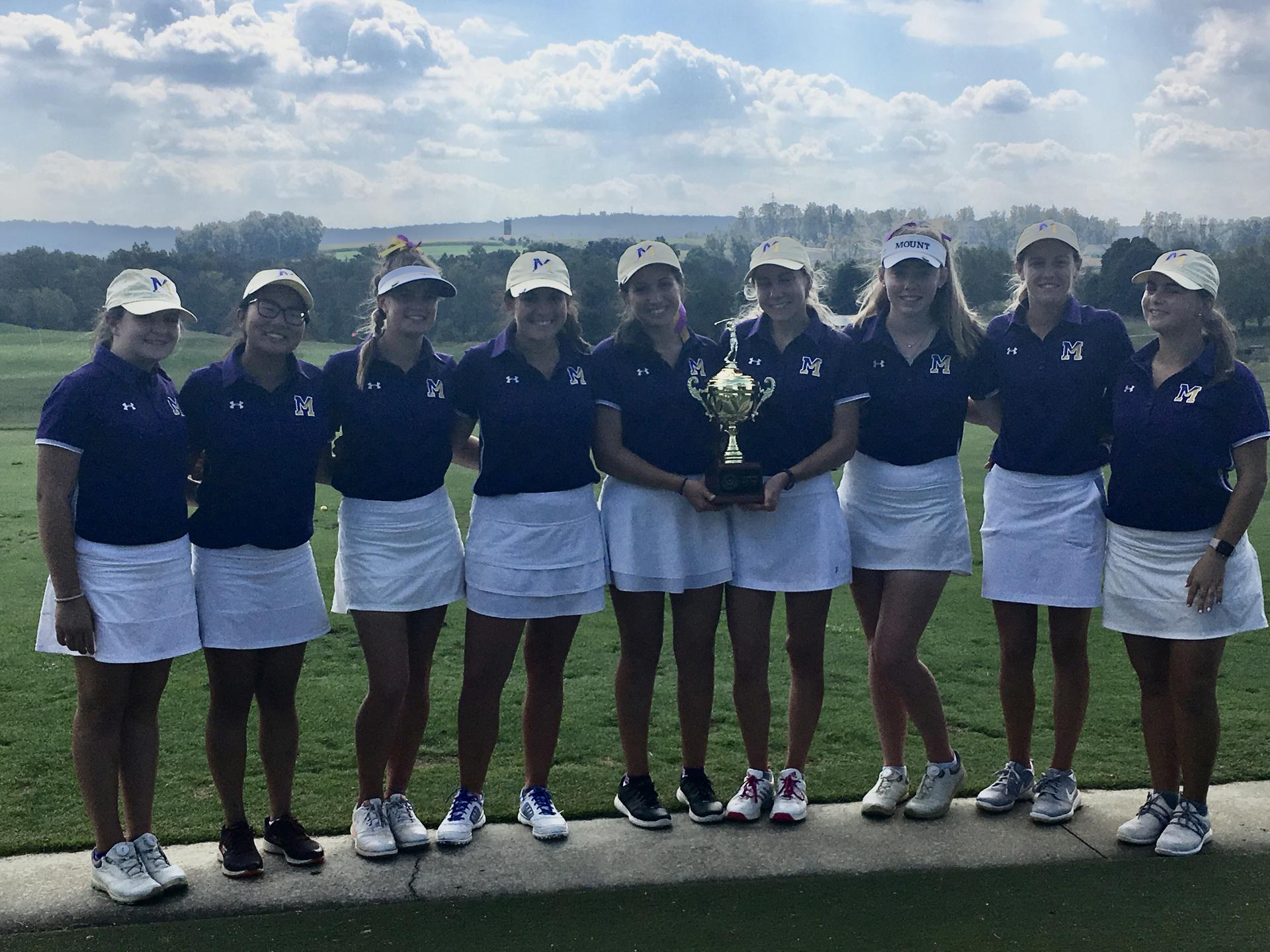 Mount Golf Team Secures AACA Championship