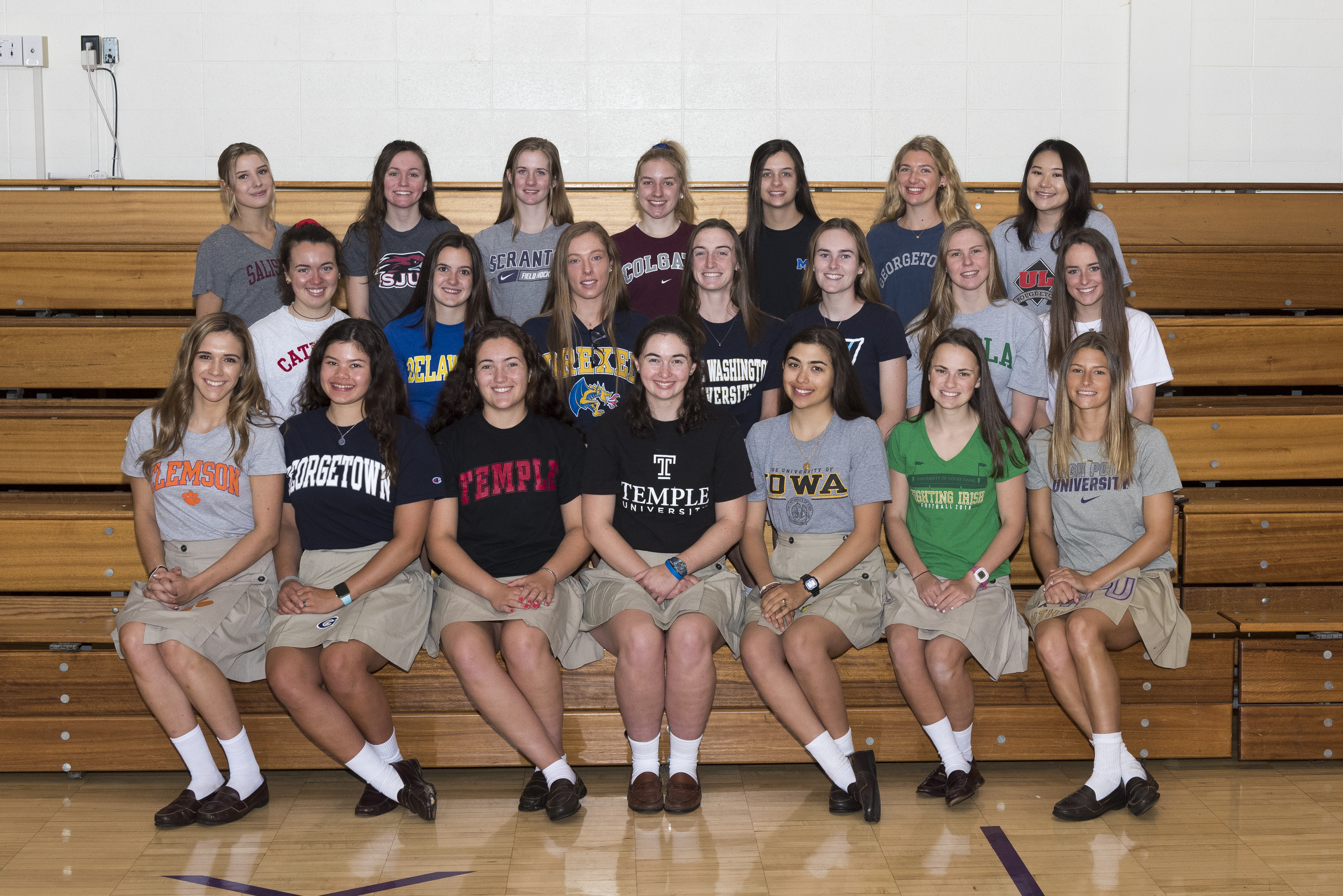 21 MSJA Athletes Committed to Play Sports in College