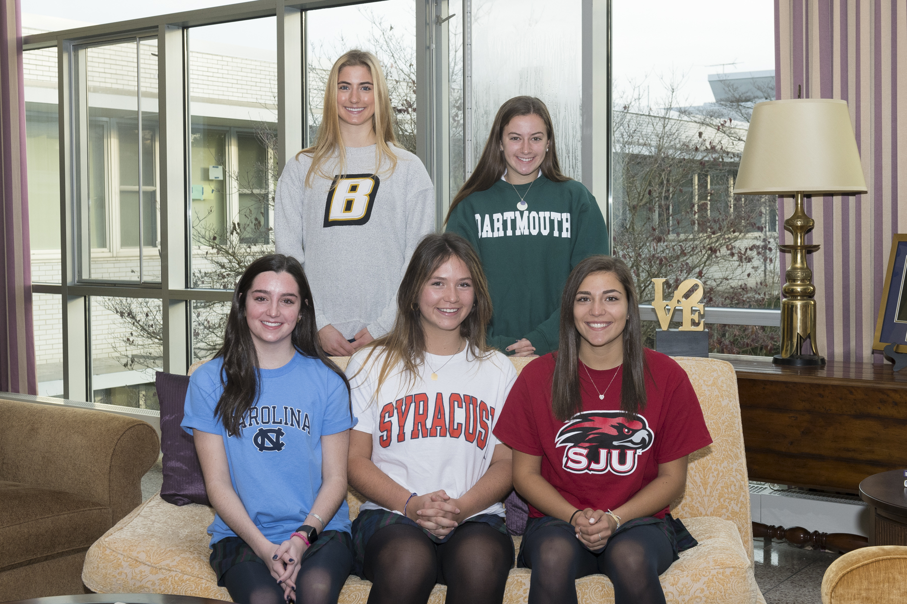 Five Seniors Commit to University Athletics