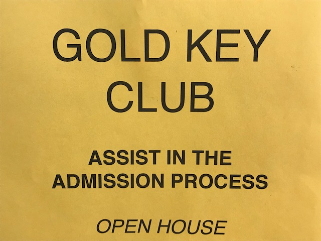 Parents needed for Gold Key