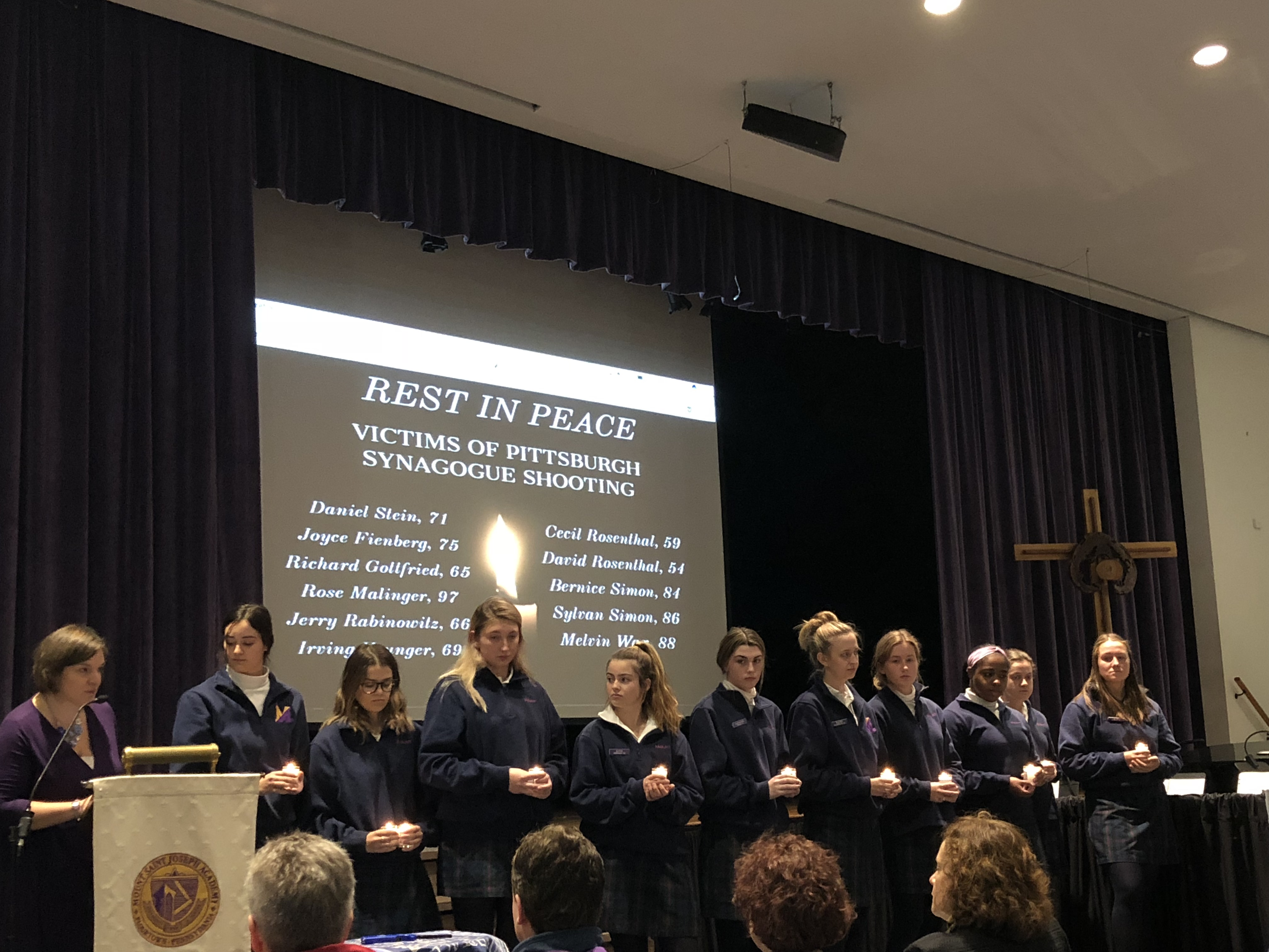 MSJA Holds Prayer Service With Members of Jewish Community in Wake of Pittsburgh Tragedy