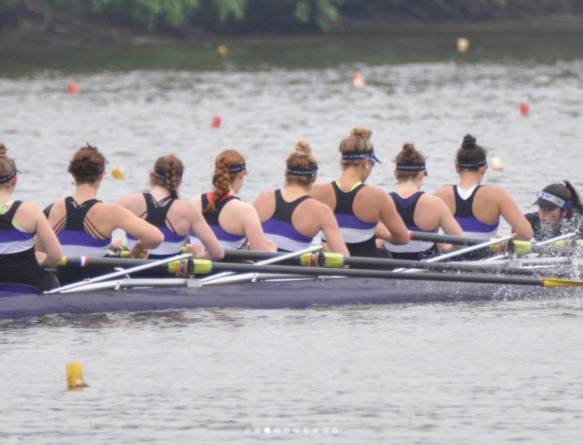 Crew Earns Five Medals at Stotesbury Cup Regatta