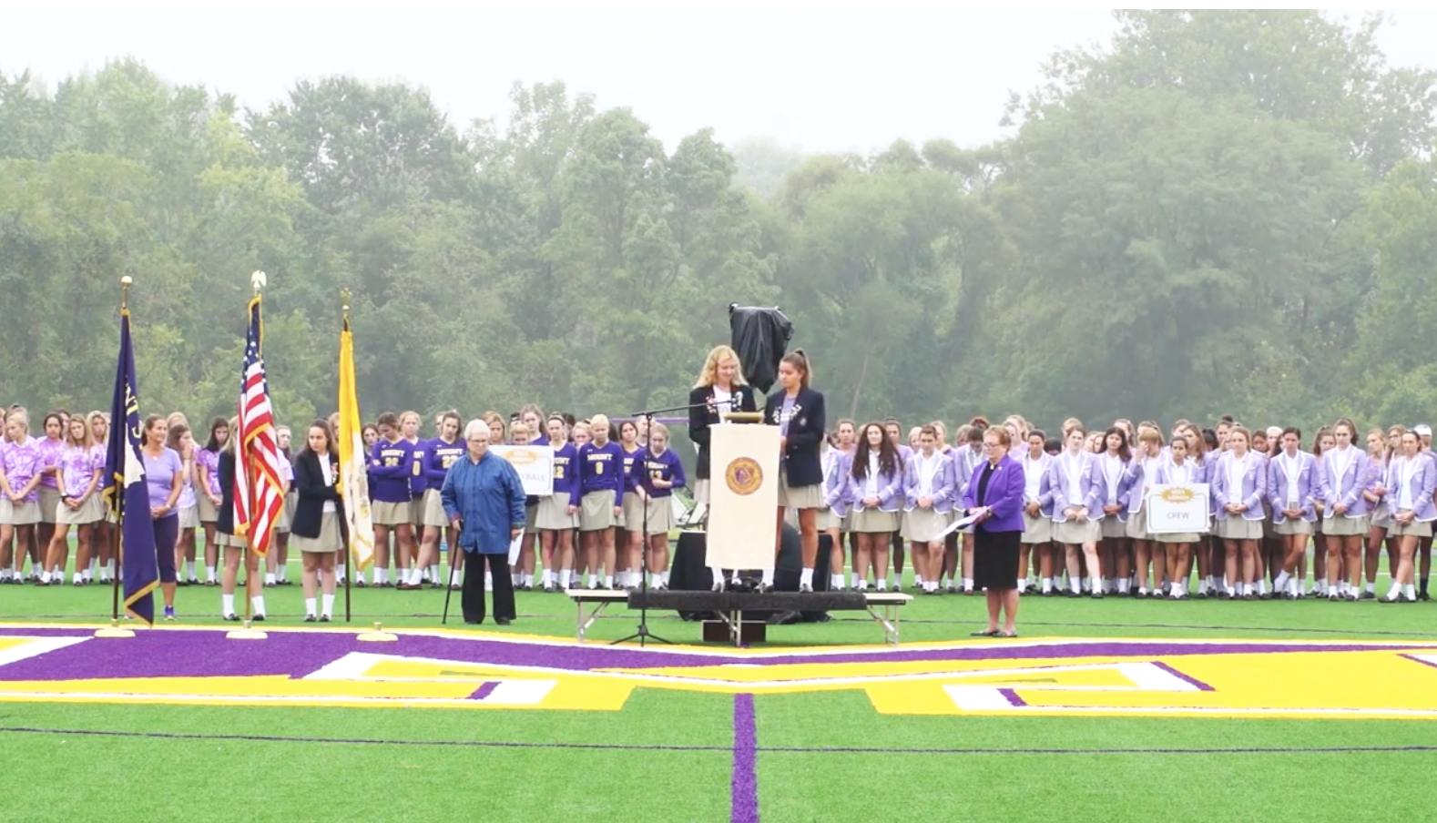 Multipurpose Turf Field Blessing