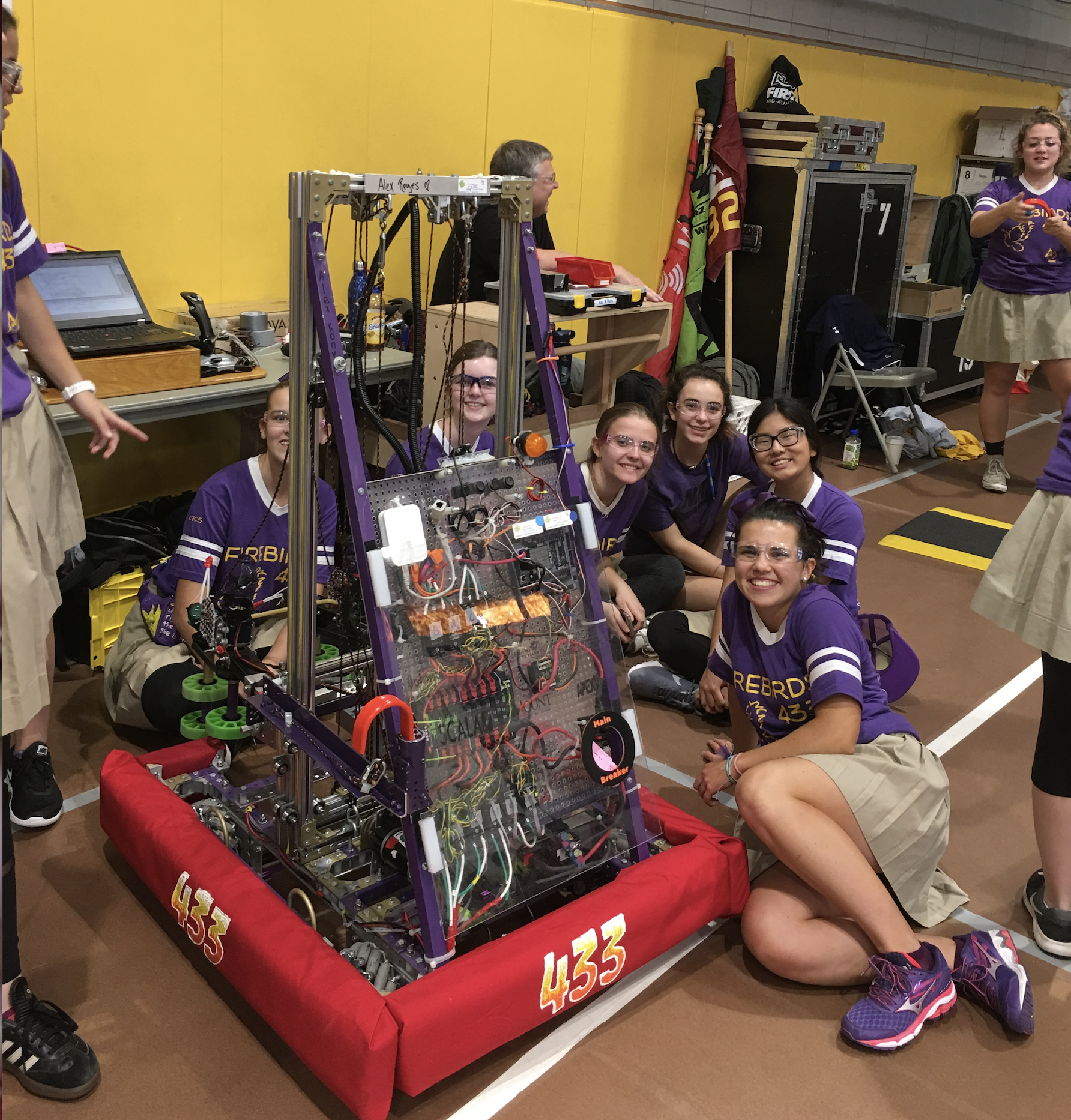 Firebirds Robotics Team Host Annual GirlPower Event
