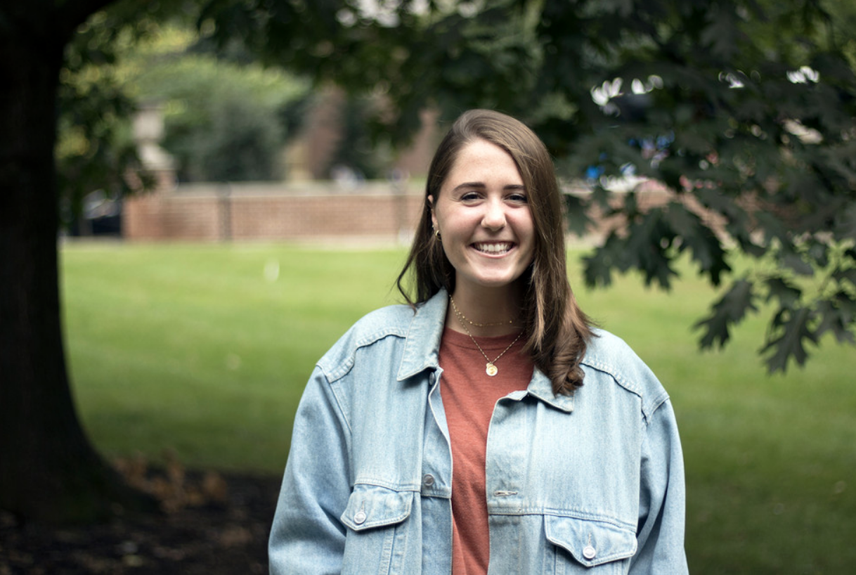 Colleen McBride '15 using social media strategy to reach differing demographics