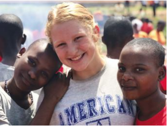 Ilsa Maguire's Service Trip to Uganda Featured in Ambler Publication